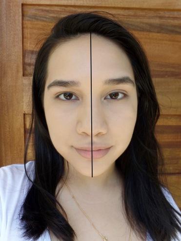 Left - Laura Mercierl; Right - Tarte
