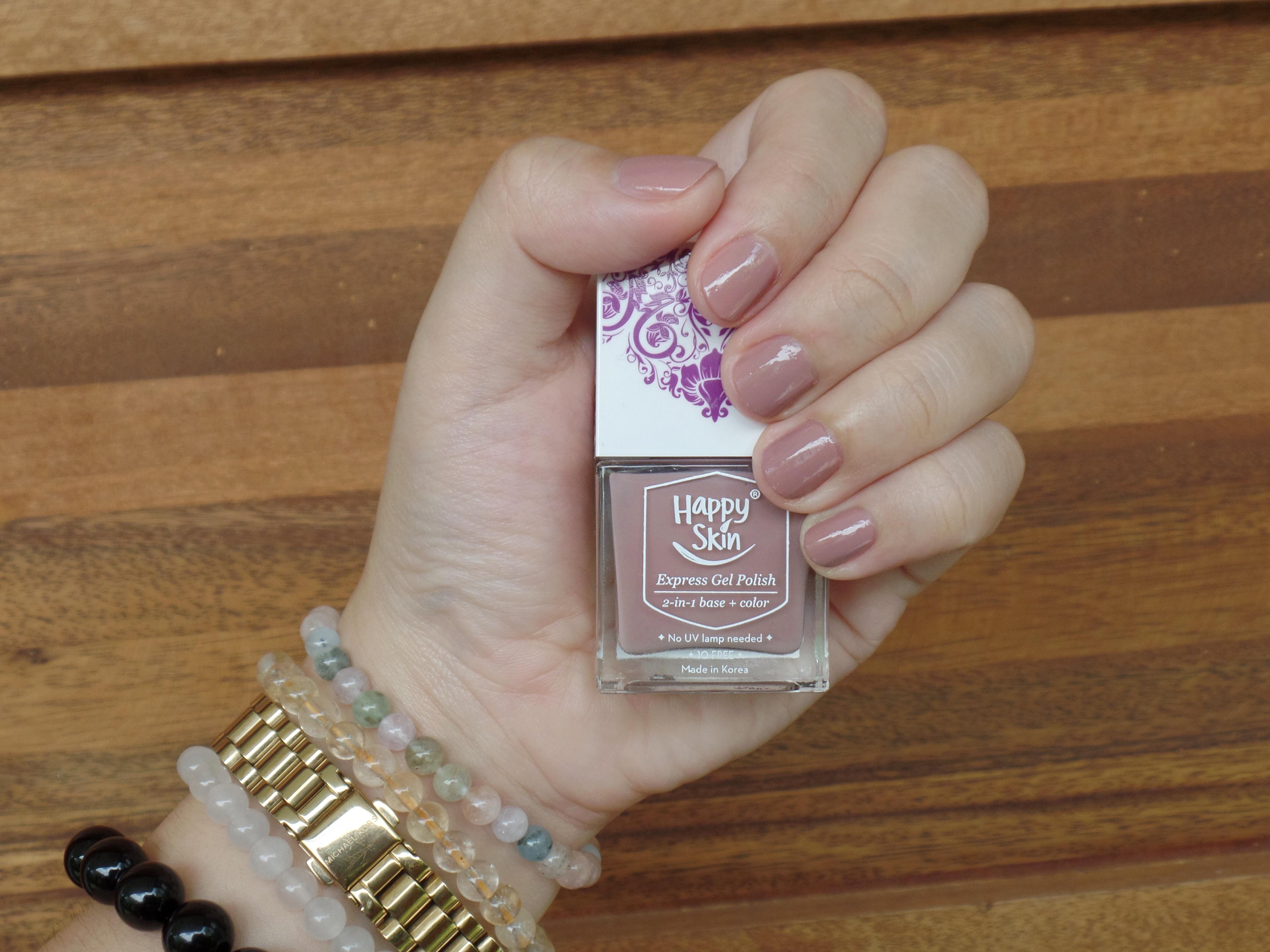happy skin nail polish